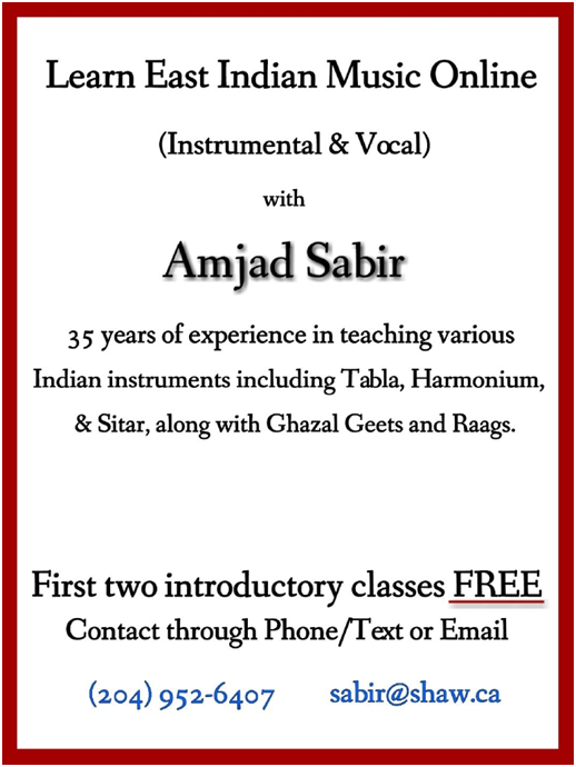 Learn East Indian music Online