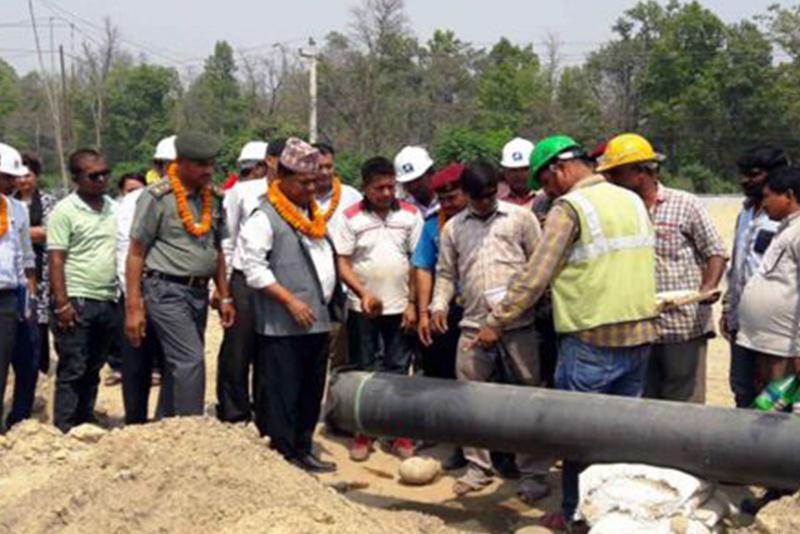 १५ महिनापछि नेपालमा पाइपबाट तेल