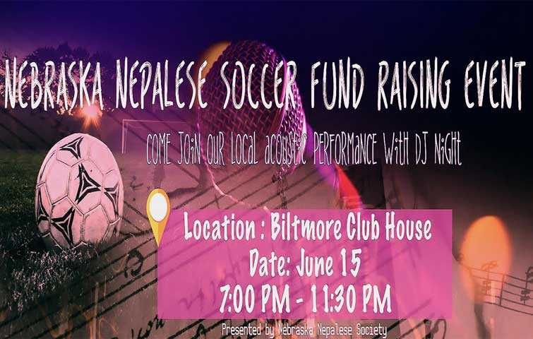 Nebraska Nepalese Soccer Fund Raising Event