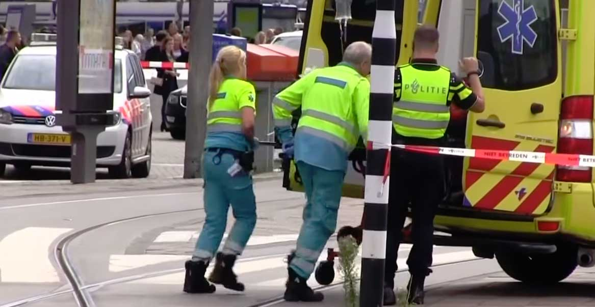 Amsterdam stabbing: Afghan suspect 'had terrorist motive'