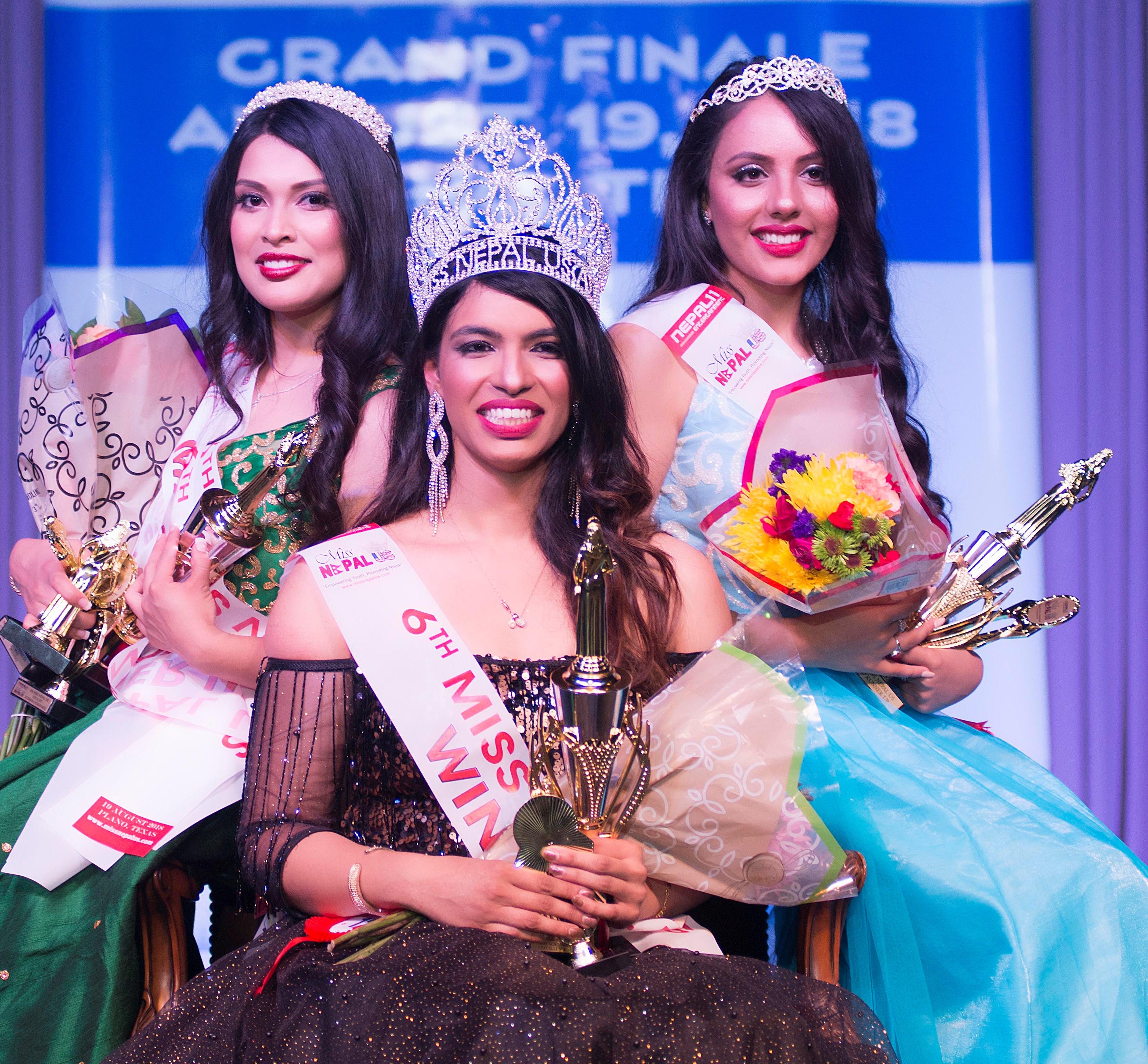 मिस नेपाल यूएसमा व्यूटि विथाउट लिमिट बिद्या थप