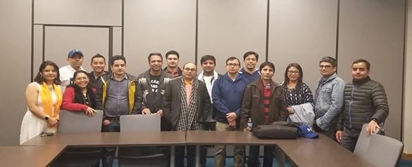 Nebraska Nepalese Society Team (2020 -2022) Board Formed